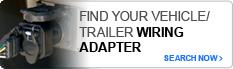 Find your Vehicle/Trailer Wiring Adapter