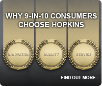 Why 9-in-10 consumers choose Hopkins